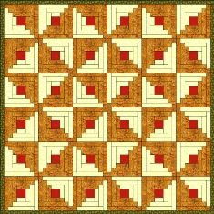 Log Cabin Quilt Pattern Gallery post image