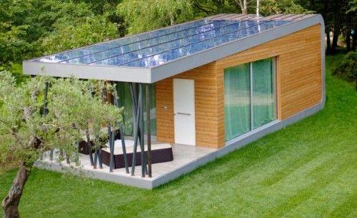 Eco-design italiano: la casa modulare con pannelli solari ultra-sottili