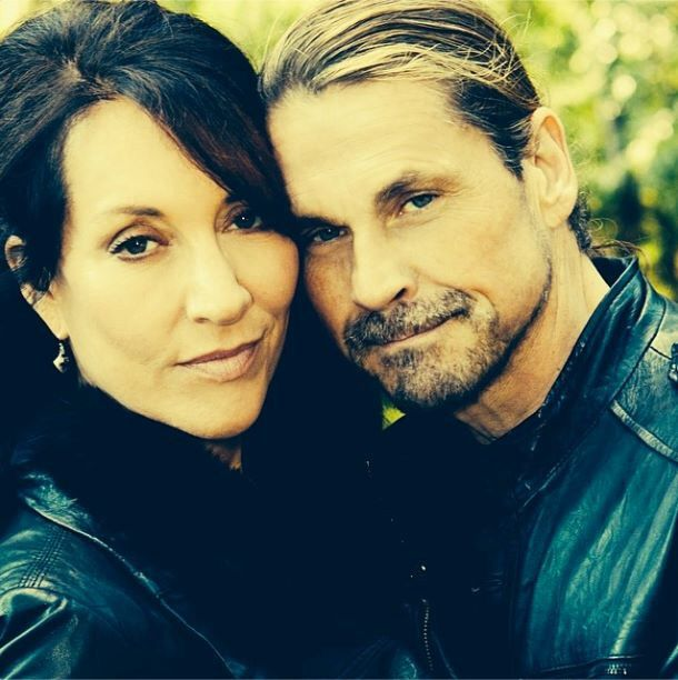 Katey Sagal & Kurt Sutterink; wife & the creator of SOA whom also played Gemma & Otto. Great pic!
