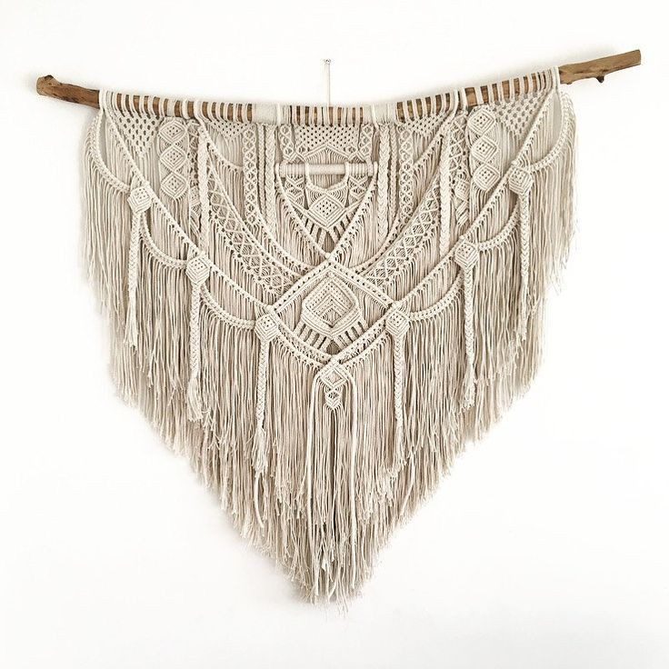 Ancestral Weave, macrame wall hanging by AncestralStore on Etsy More