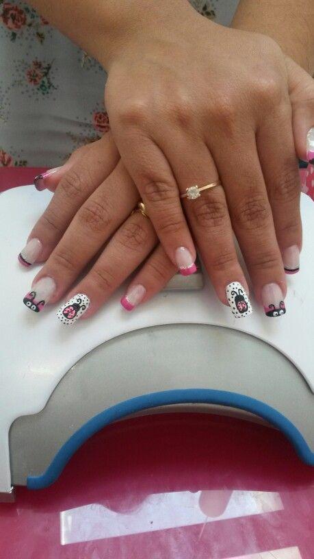 Mejores 81 imágenes de uñas.acrilicas y encapsuladas en Pinterest ...