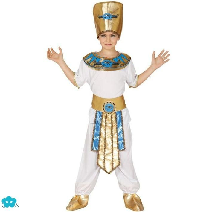 Disfraz de faraón egipcio para niño