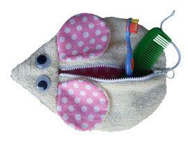 Kulturtasche - Maus für Kinder, faire Mode, Herzkind, Berlin