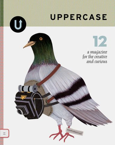 UPPERCASE is a quarterly magazine for the creative and curious. With content inspired by design, craft, illustration, typography and photography, there's lots to love.: Cover, Craft, Art, Illustration, Book, Magazines, Design