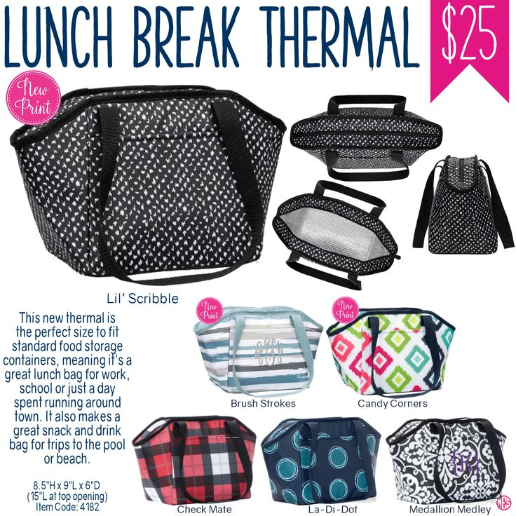 Thirty-One Lunch Break Thermal - Spring/Summer 2017