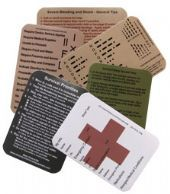 Set of 6 Survival Kit Stickers - Emergency Flash Cards Morse Code - Imagine the only way you have to communicate with the outside World is Morse Code and you don't know a letter!! This is a great reference sticker for just that occasion. Signal Marker - You need to move or communicate with aircraft, this sticker has the Internationally recognised marking signs for some of the essential communication. Survival fishing tips and tricks - This one has 7 different tips and tricks for fishing for…