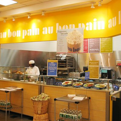 America's Healthiest Fast Food Restaurants - Au Bon Pain - Come visit our newly opened Cafe at the Roosevelt Field Mall in Garden City LI, New York :)