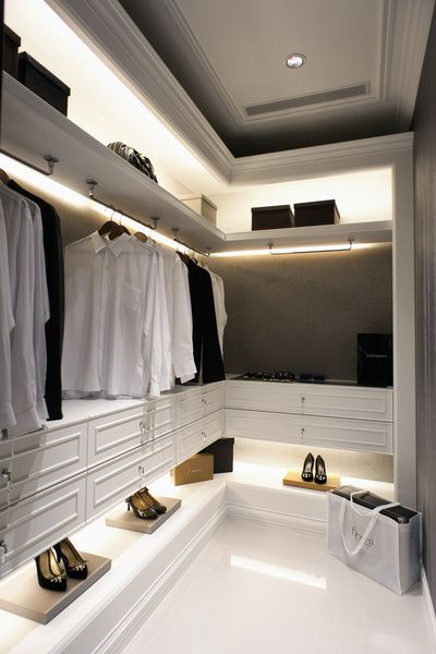 Closet Lighting/ Closet Style