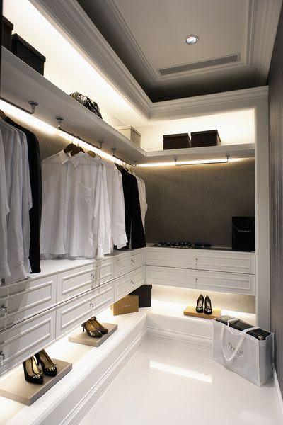 Closet Lighting/ Closet Style