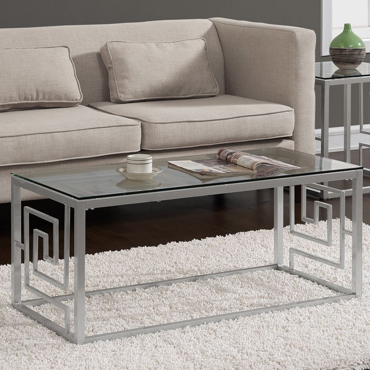 25 best ideas about Silver coffee table on Pinterest Modern
