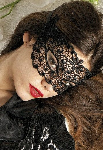 Lace Embroidery Masquerade Ball Mask Sexy Ladies Mask Eye Mask DOLLAR SHIPPING in 24hrs! on Etsy, $12.50