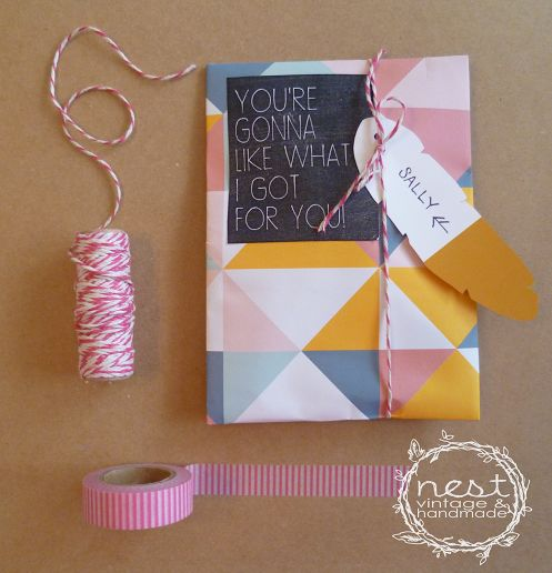 FREE Gift Tag Printables by NEST Vintage & Handmade