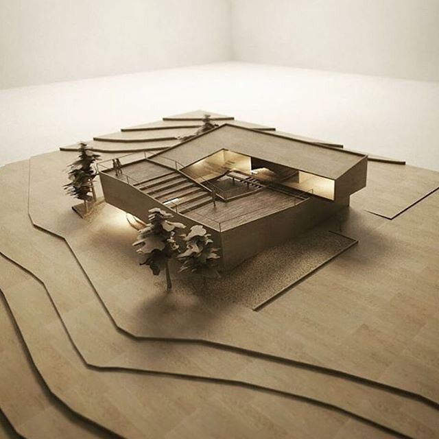 Concept Architecture Models Design Elevation Plan Drawing Art Architects Sketches Maquettes