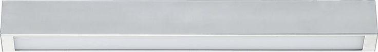 Lampa sufitowa STRAIGHT silver ceiling 60cm | Lampy sufitowe do biura do łazienki do kuchni do jadalni | oświetlenie