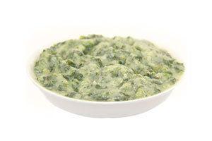 Creamed Spinach, Average