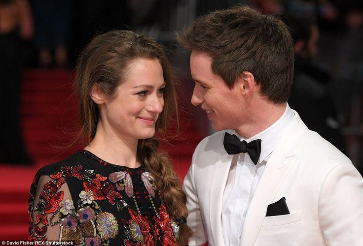 Eddie Redmayne and his beautiful wife Hannah Bagshawe at EE British Academy Film Awards 2017 in London 2/12/2017