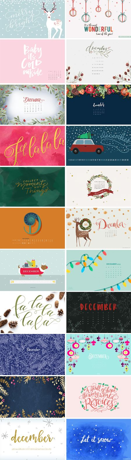 Happy December everyone! I wish you the most amazing holiday season, and a great New Year! 1. Amanda Genther  |  2. Alesha Haley  | 3. May Designs 4. Lovely Day Fleur  | 5. Katrina Crouch  |  6. Designer Blogs 7.…