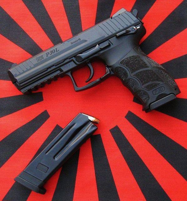 Heckler & Koch P30L 9mm 15rd