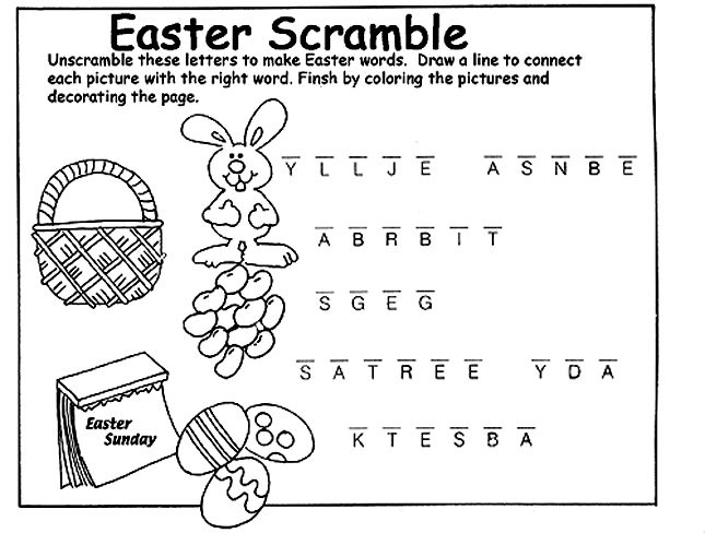 unscramble letters to make a word can you unscramble the letters to make easter words when 25377