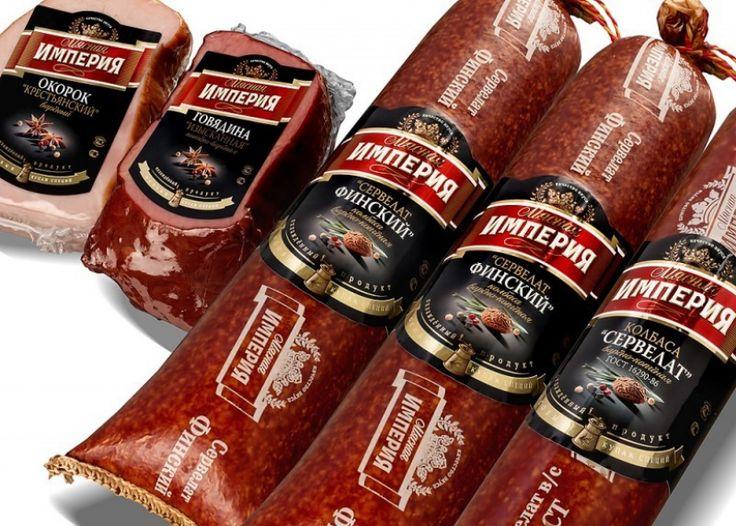 Дизайн этикетки на колбасу