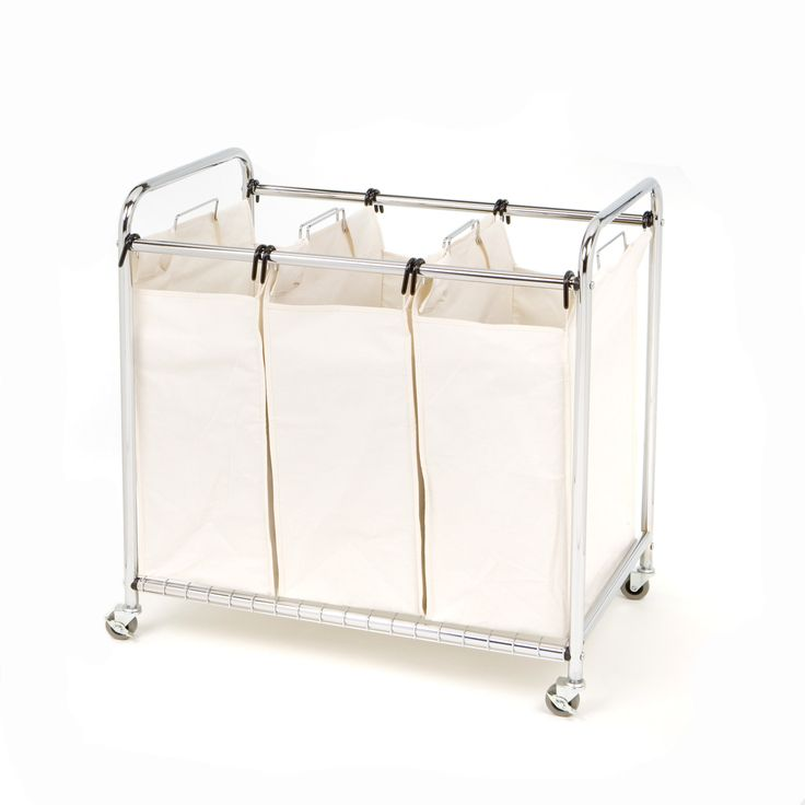 seville classics 3 bag laundry sorter - Diy Entfernbarer Backsplash