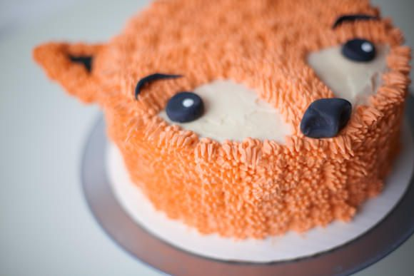 How To Make A Furry Fox Cake #cake #sweet #cook