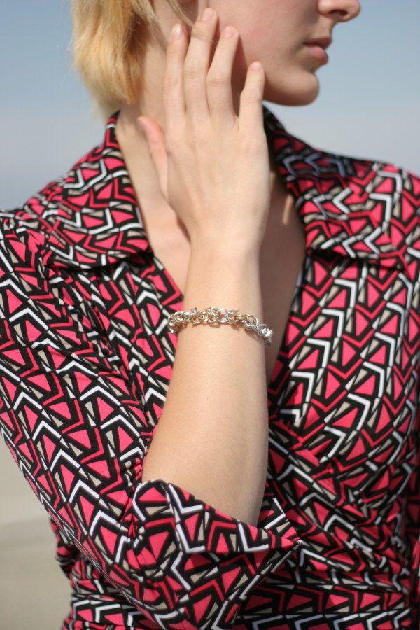 DIY Handmade Jewelry | Byzantine Bracelet