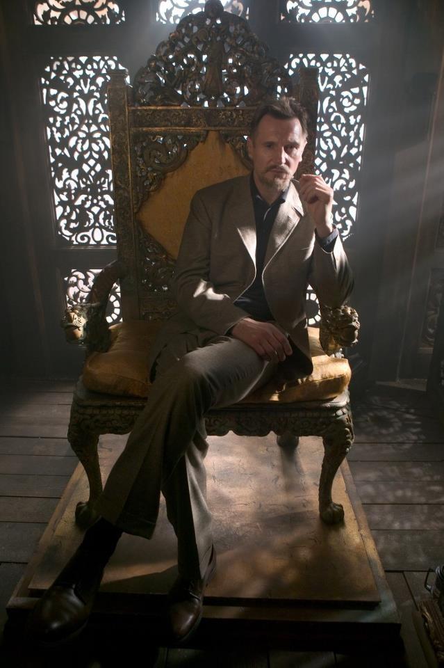 Ra's al Ghul [a.k.a. Henri Ducard] (from Batman Begins, 2005). Portrayed by Liam Neeson