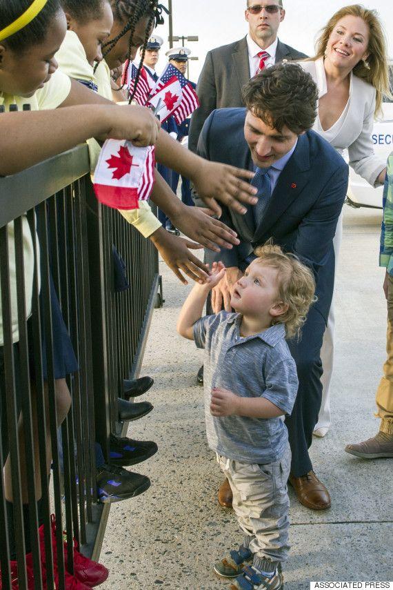 Hadrien Trudeau charme Washington dès son arrivée