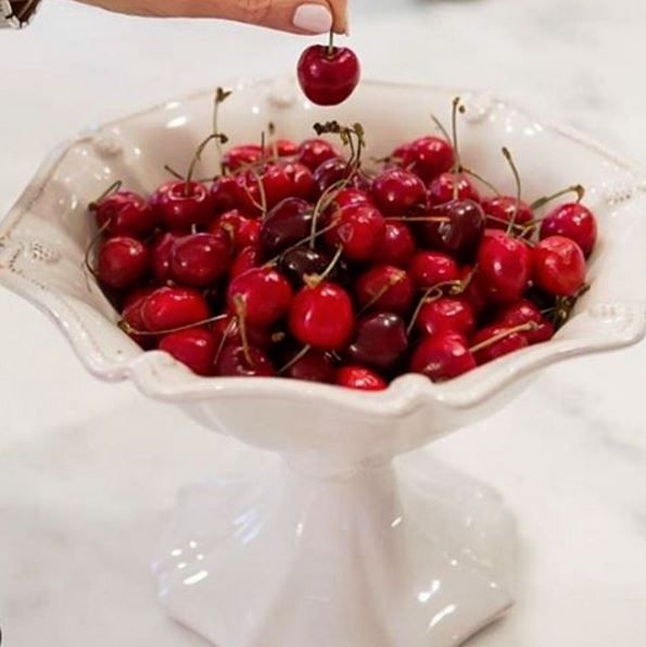 Life is a bowlful of cherries! Wishing you bowls full of love, delight and wonder! Thank you to @TheLushListAW for this delicious image showcasing our Berry & Thread compote