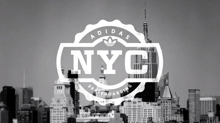 Adidas Skateboarding NYC