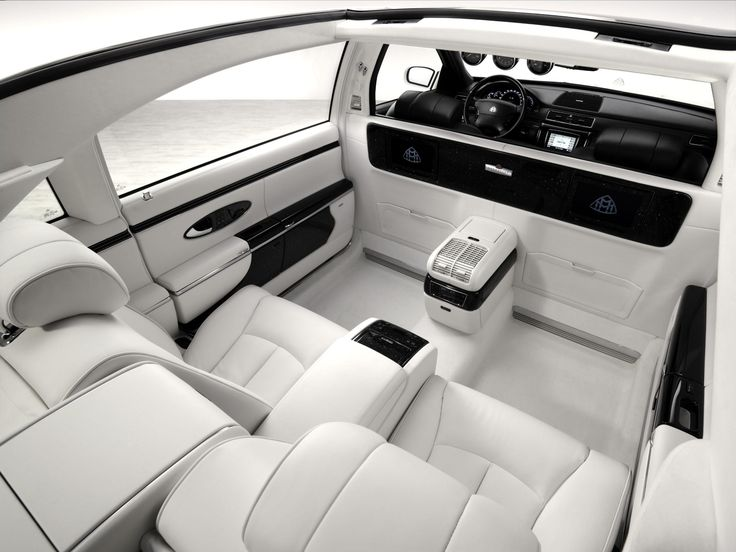 Maybach Luxury Car Interior Do you like this cool car? See much more eye-catching limos at www.classiquelimo.com