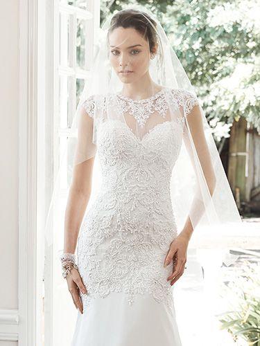 Tenley Wedding Dress by Maggie Sottero   alt 1