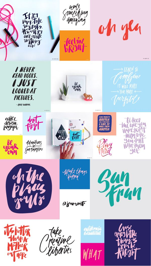 HANDLETTERING | PROCESS