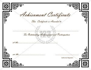 19 best achievement certificate images on pinterest certificate achievement certificate archives 123 certificate templates 123 certificate templates yadclub Choice Image