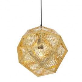 Replica Tom Dixon Etch Shade Pendant light - Gold