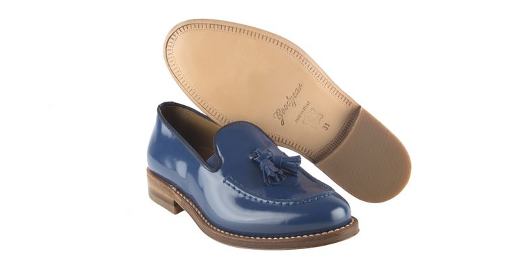 7014/Lepanto Blue #galluccishoes #kids #shoes #loafer #cuoio #mocassino #SS16