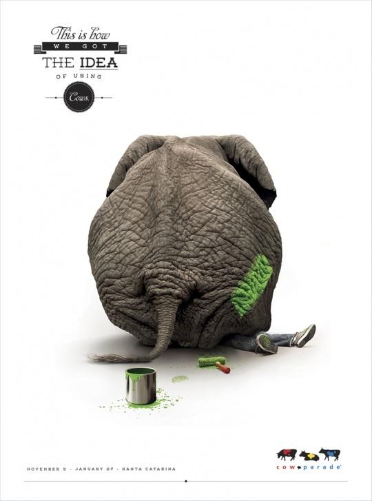 Propague Cow Parade: Elephant