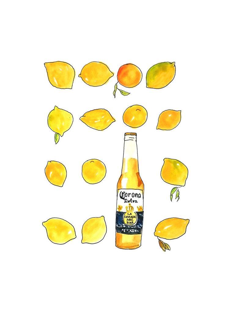 how to drink corona beer