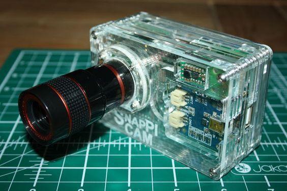 The SnapPiCam | A Raspberry Pi Camera #adafruit #littlebox #photography