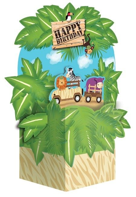 Party Time Celebrations  - Safari Adventure Party Centrepiece, $10.95 (http://www.partytimecelebrations.com.au/safari-adventure-party-centrepiece/)
