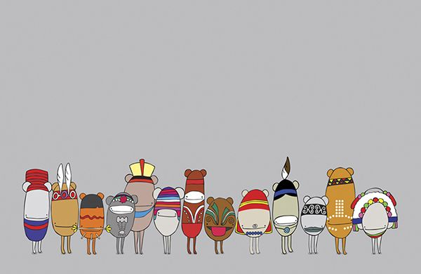 Celebrate Indigenous II #eggpicnic #illustration #design #art #partofthesolution #conservation #education #shop #interior #kids #kidsroom #styling #nature #wild #wildlife #healthy #planet #sydney #australia #australiandesign