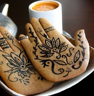 Mehndi Inspired Spice Cookies
