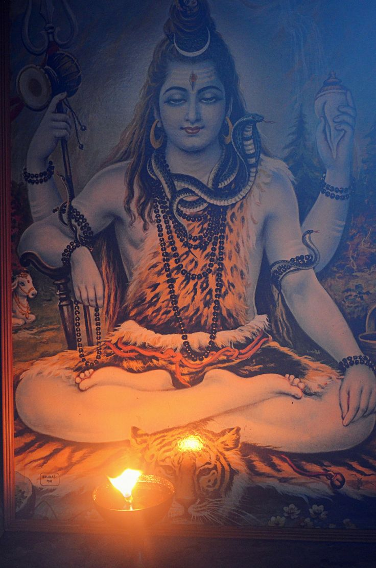 Shiva - the great Lord by Tamaswati Ghosh