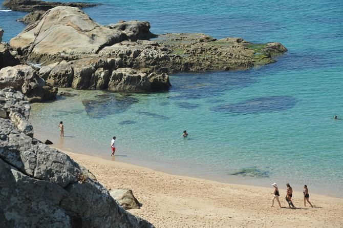 Playa de los Alemanes, Cabo de PLata, Zahara de los Atunes - Cadix (Espagne)