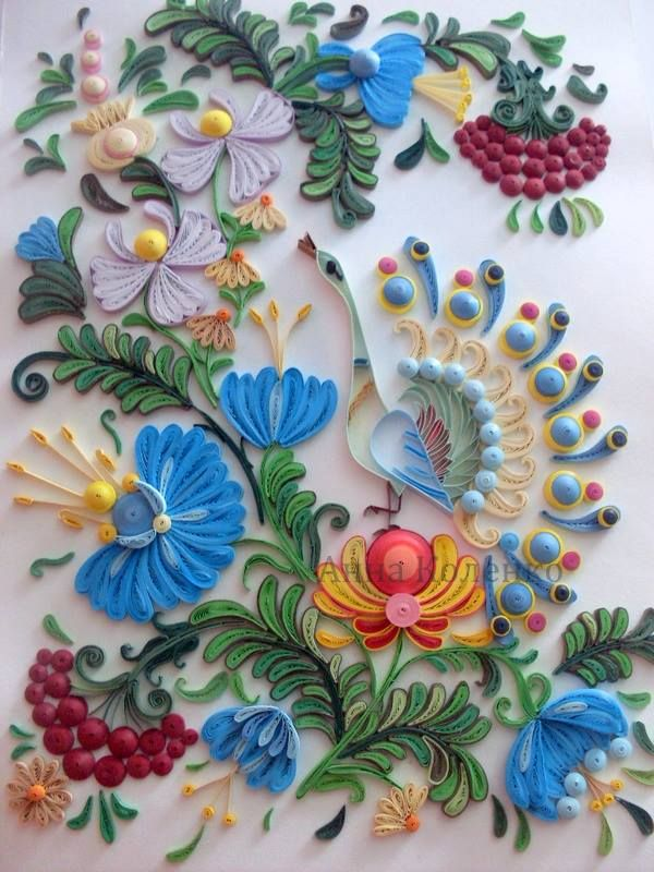 Quilling by Ana Kolenko!