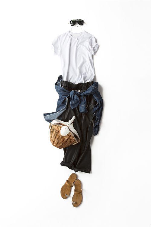 ハードじゃないブラック&ホワイト 2015-08-07   trousers price :15,120 brand : MACPHEE