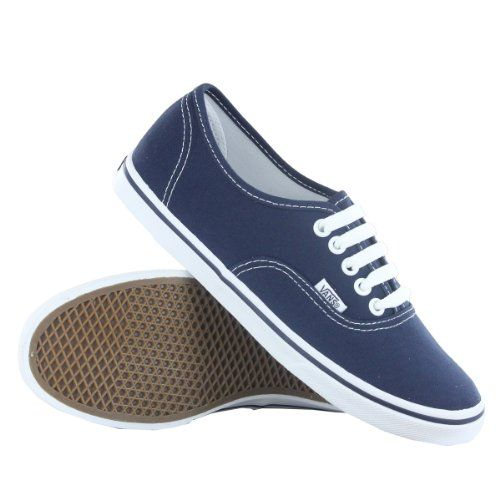 AwesomeNice Vans Classic Authentic Lo Pro Navy Womens Trainers