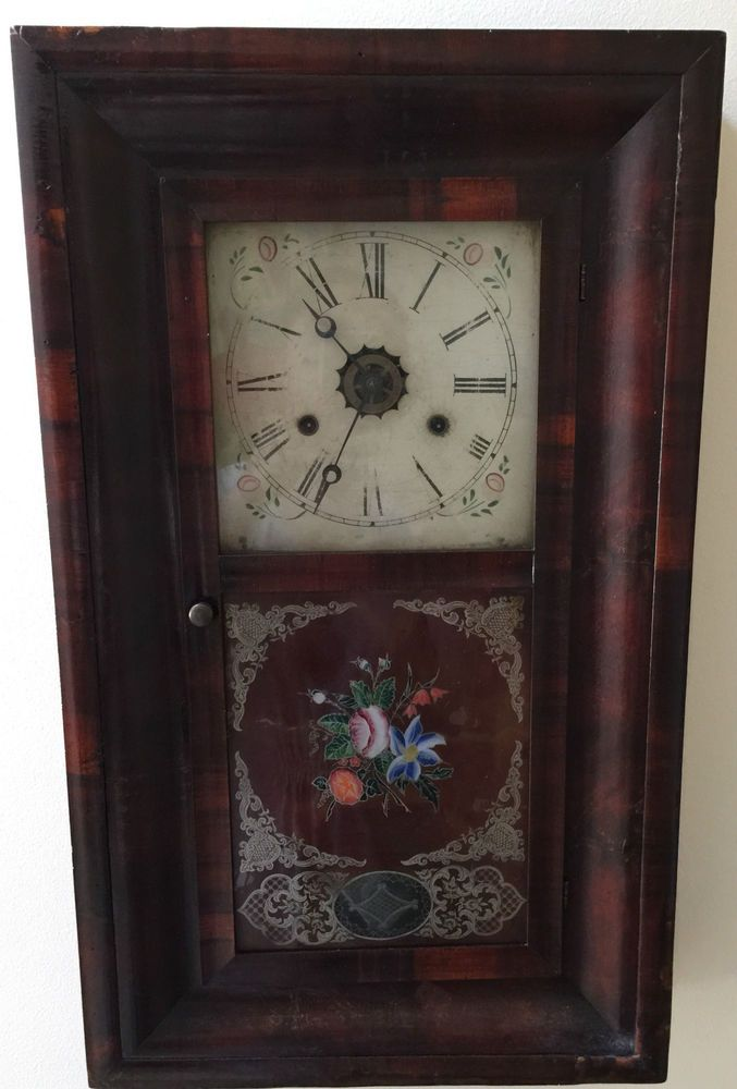 Antique 1800s Clock Antique Clock 1800s Decor