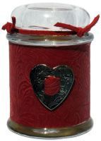 Southwestern Candle Company, Heart Of Texas - Faux Exotic Skin Candle - Small 6 oz.